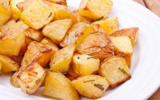 Запеченный картофель.