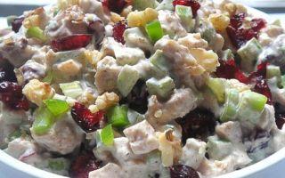 Новогодний салат – украшение праздничного стола
