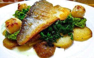 Как приготовить окуня речного или морского (сибас) в духовке