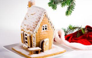 Печем новогодний праздничный домик