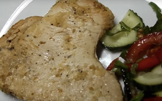 Как приготовить стейк из индейки в духовке