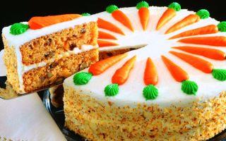 Морковный торт с фото