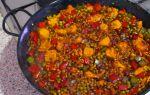 Рецепт паэлии | паэлья с курицей | паэлья с морепродуктами