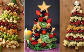 Диетические блюда для новогоднего стола
