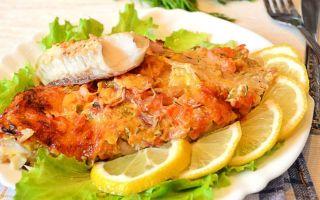 Рыба в духовке рецепты с фото