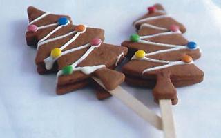Рецепт новогоднего печенья «Елочки»