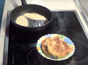 Сырные лепешки - пирожки